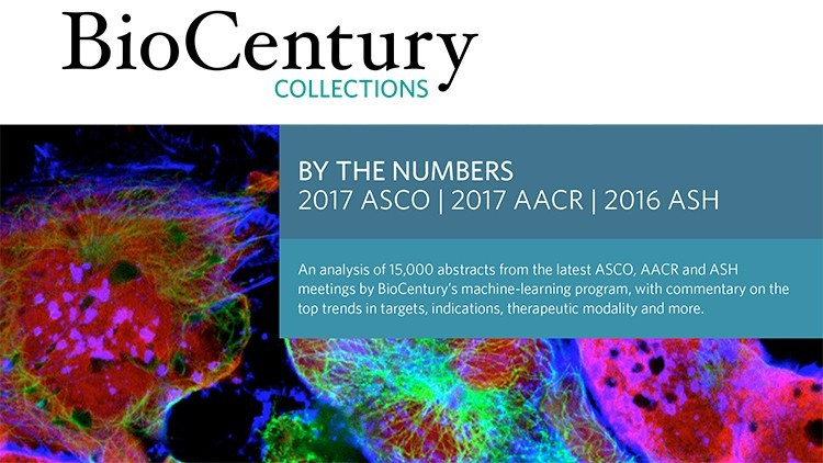 By The Numbers: 2017 ASCO, 2017 AACR and 2016 ASH