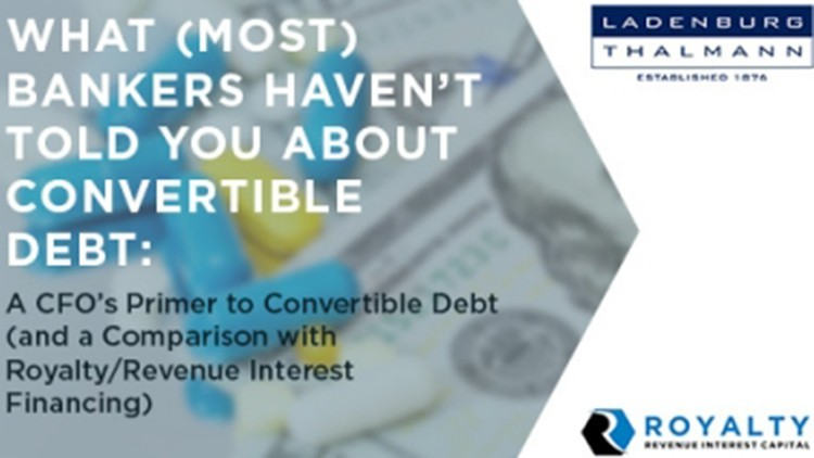 What (Most) Bankers Haven't Told You About Convertible Debt